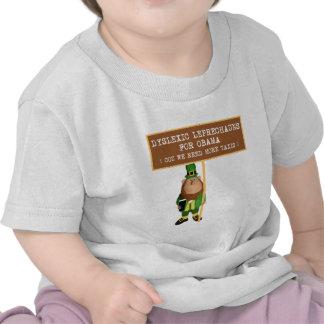 Spoof dyslexic anti Obama T Shirts