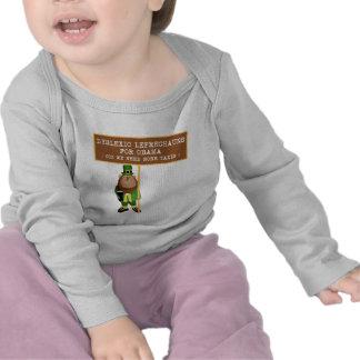 Spoof dyslexic anti Obama Tshirts