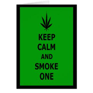 Spoof keep calm card