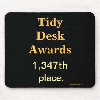 Spoof Office Awards Tidy Desk Cruel Joke Mouse Pad