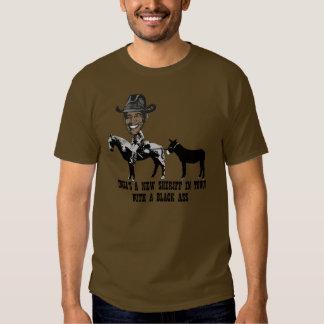Spoof Sheriff Obama-anti Obama Tee Shirt