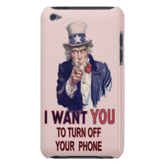 Spoof Uncle Sam iPod Case-Mate Case