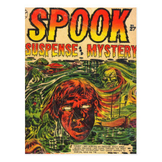 Spook Comic Book Postcard