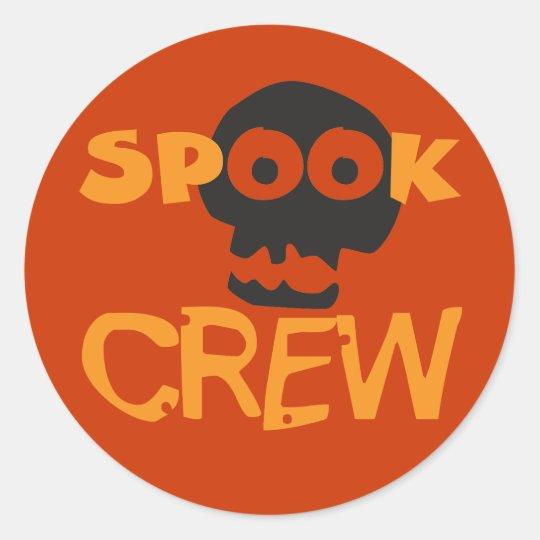 Spook Crew 2 Classic Round Sticker