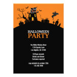 Spook Hill Halloween Party Invitation