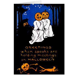 Spook Meeting Card
