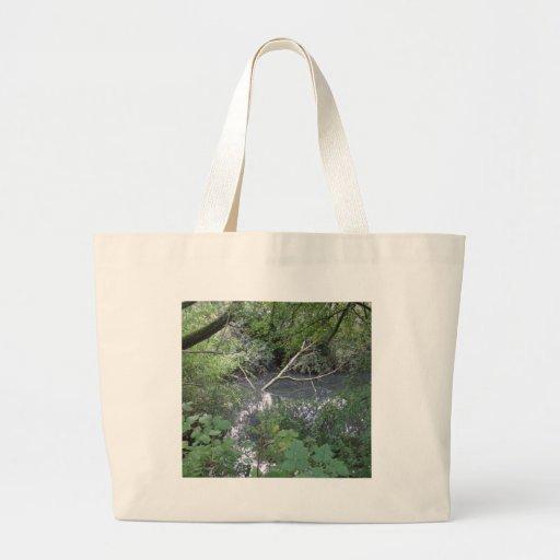 Spook pond canvas bag