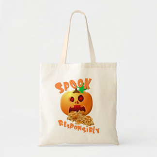 Spook Responsibly - Halloween theme Tote Bag
