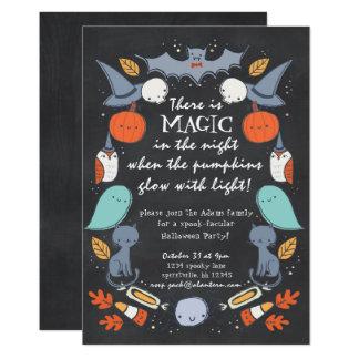 Spook-tacular Halloween Party Invitation