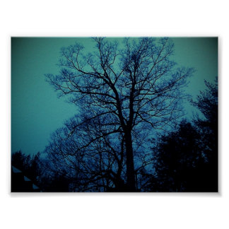 Spook Tree Poster