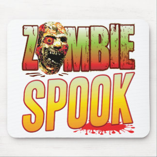 Spook Zombie Head Mouse Pad