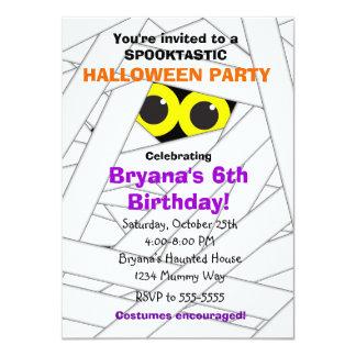 Halloween Birthday Invitations Zazzle