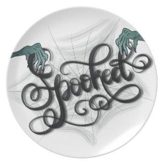 Spooked Melamine Plate
