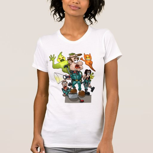 Spooked Out Ladies T-Shirt
