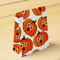 Spooked Pumpkins (Add Background Color) Party Favor Box