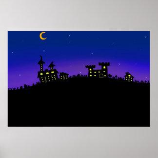 Spooki town poster