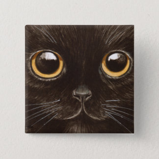 Spookie the Cat Pinback Button