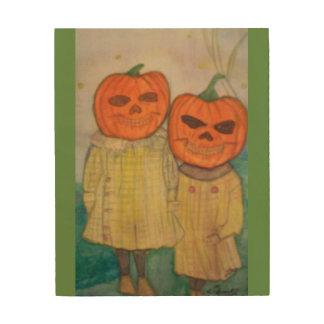 Spooks 8 x 10 Wooden Print
