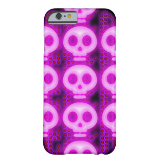 Spooksville Skull Matrix Barely There iPhone 6 Case