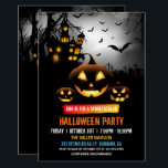 """Spooktacular Dark Haunted House Halloween Party Invitation<br><div class=""""desc"""">Spooktacular Dark Haunted House Halloween Party Invitation. (1) For further customization, please click the &quot;customize further&quot; link and use our design tool to modify this template. (2) If you prefer Thicker papers / Matte Finish, you may consider to choose the Matte Paper Type. (3) If you need help or matching...</div>"""