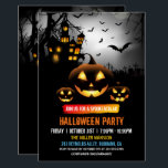 "Spooktacular Dark Haunted House Halloween Party Invitation<br><div class=""desc"">Spooktacular Dark Haunted House Halloween Party Invitation. (1) For further customization, please click the &quot;customize further&quot; link and use our design tool to modify this template. (2) If you prefer Thicker papers / Matte Finish, you may consider to choose the Matte Paper Type. (3) If you need help or matching...</div>"