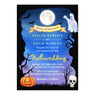 Spooktacular Hallowedding Halloween Wedding Invitations