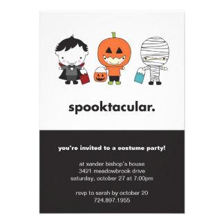 Spooktacular Halloween Costume Party Invitation