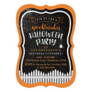 Spooktacular Halloween Custom Party Invitations