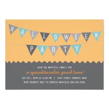 origamiprints Spooktacular Halloween Party Invite