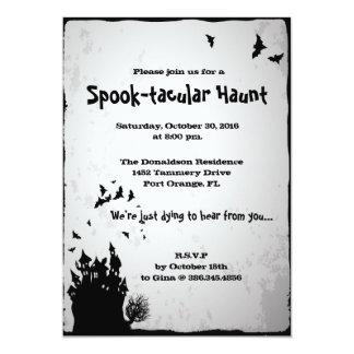 Spooktacular Haunt Halloween Party invitation