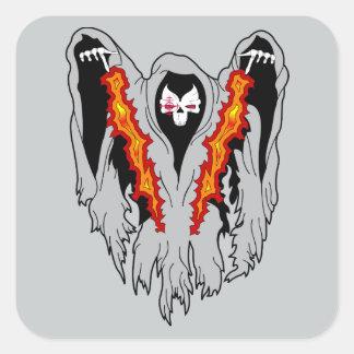 Spooky  AC-130  Gunship Square Sticker