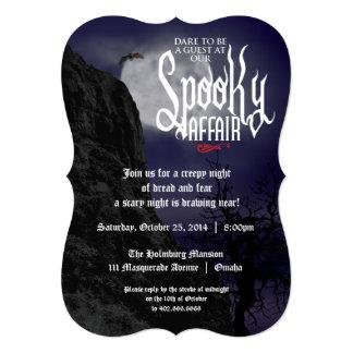 Spooky Affair Invitation