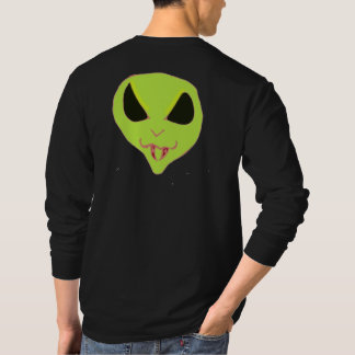 Spooky Alien face fangs Shirts
