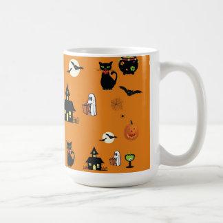 Spooky and Fun Halloween Collage Coffee Mug