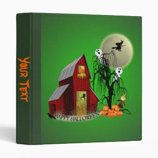 Spooky Barn Avery Binder