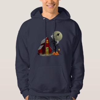 Spooky Barn Halloween Hoodie