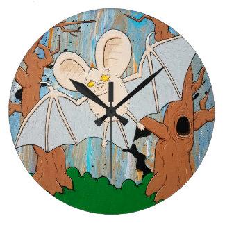 Spooky Bat Clock