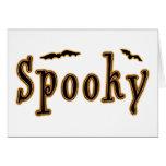 Spooky Bats Halloween Design Cards