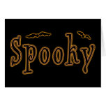 Spooky Bats Halloween Design Stationery Note Card