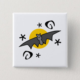 Spooky Bats Pinback Button