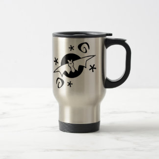 Spooky Bats Travel Mug