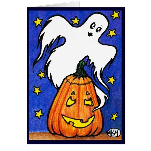 Spooky Buddies : Halloween Card
