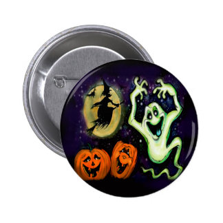Spooky 2 Inch Round Button