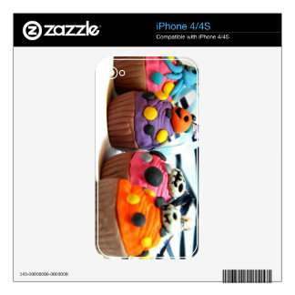 Spooky Cakes Decal For The iPhone 4