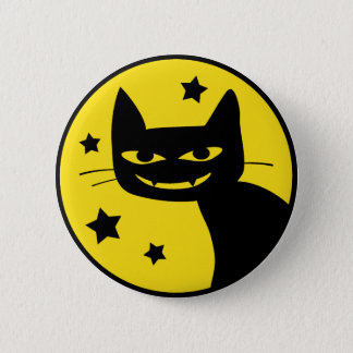 Spooky Cat Button