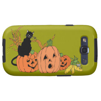 Spooky Cat Samsung Galaxy S3 Cases