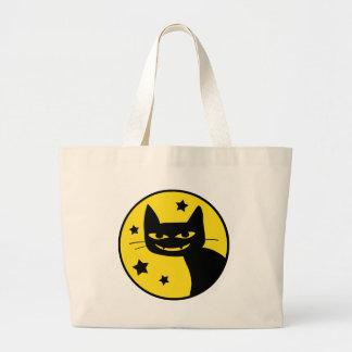 Spooky Cat Jumbo Tote Bag