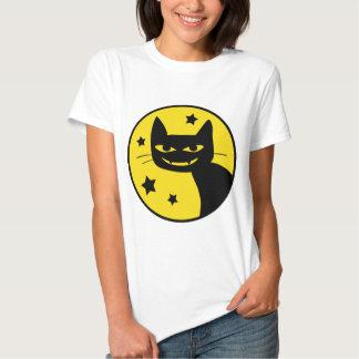 Spooky Cat Tee Shirts