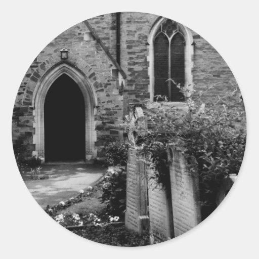 Spooky Church Stickers