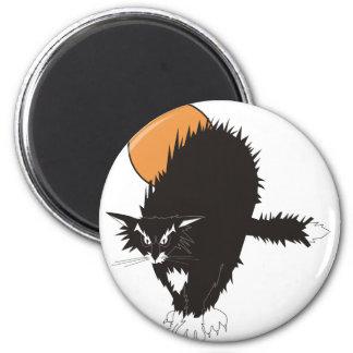 Spooky Classic Cat Magnet